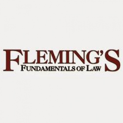 9497707030 Fleming's Fundamentals of Law